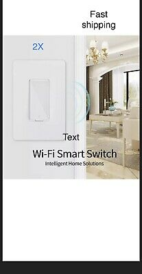 2 pack Smart Switch Works with Alexa, Smart Home Devices Works with Go