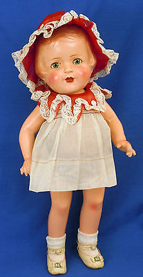 """R & B Nancy Doll with All Original Tagged Outfit Arranbee 16"""" Composition"""