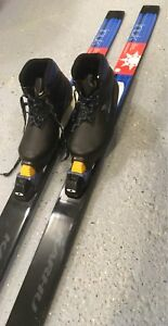 Karhu Cross Country Ski Boots & Skis - childs