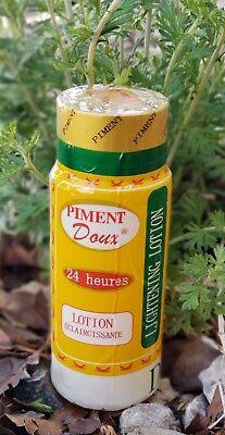 PIMENT DOUX 24 HEURES LOTION ECLAIRCISSANTE. LIGHTENING LOTION 24 HOURS