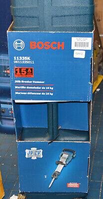 Bosch 11335k Demolition Breaker Hammer Kit Impact 35lb W Hard Rolling Case