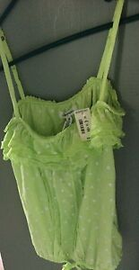 Aeropostale Frilly Blouse Size med