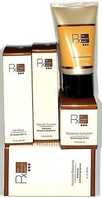 Botanical Skin Brightener (5pc. Rx for Brown Skin Lot: Advance Botanical Brightener, Cleanser, Moisturizing )