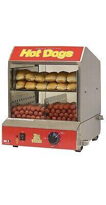 The Dog Pound Commercial Hot Dog Steamer Bun Warmer Machine Model 60048 New
