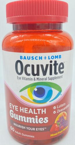 Ocuvite Eye Health Gummies Mixed Fruit Flavors 60 Count