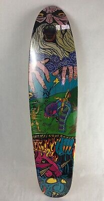 "Wizard Skateboard cruiser Canadian maple quality deck  7 x 28""  -  C5"