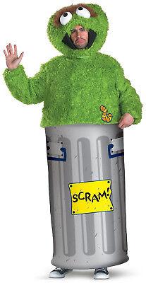 Sesame Street - Oscar the Grouch Adult Costume](Adult Oscar The Grouch Costume)