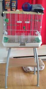 Cage vision avec meuble équipée  livraison possible