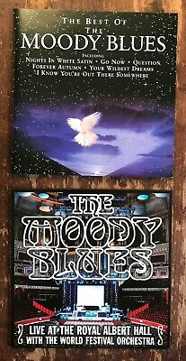 The Best Of The Moody Blues + Live At The Royal Albert Hall Go Now! 2