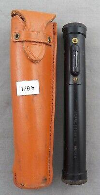 Vintage K E Keuffel Esser Hand Level W Case