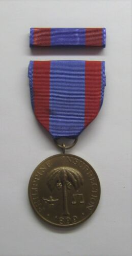 1899 U.S. Army Philippine Insurrection Medal with RIBBON