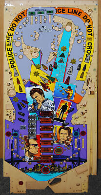 Williams Dirty Harry - Pinball Playfield NOS