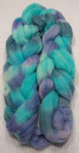 Superwash Wool Combed Top Roving Spinning Handpainted USA NWT Honduras 5