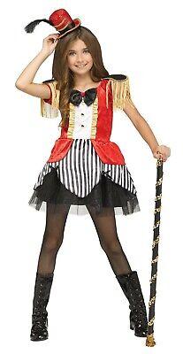 Child Big Top Beauty Ringmaster Circus Costume  (Ringmaster Costume Child)