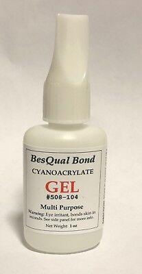 Ivorie Dental Lab Super Glue Cyanoacrylates 1oz Gel Gel