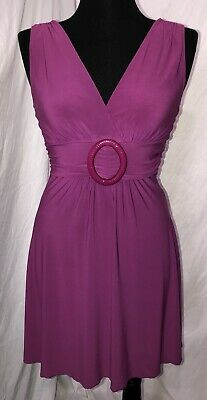 Womens Star Vixen Dress Size M Stretch Purple - Star Dress
