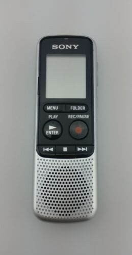 Sony ICDBX140 4GB Digital Voice Recorder Excellent Shape