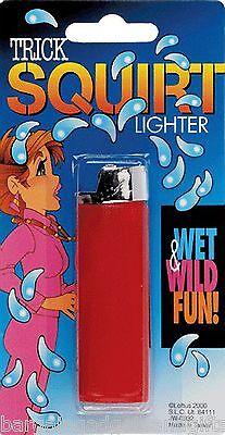 SQUIRT WATER PISTOL FAKE CIGARETTE LIGHTER FUNNY JOKE BOYS TOY CHRISTMAS GIFT