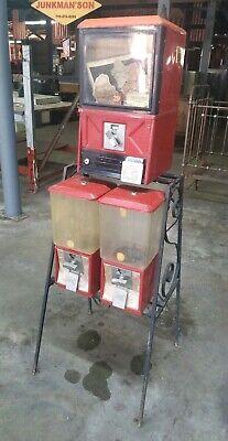 Northwestern Gumball Candy Machines W Stand
