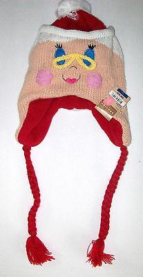 Arizona Winter Womens GirlsYouth  Grandma Knit Hat New One Size Acrylic