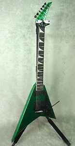 NEW! 2013 USA Jackson Custom Shop Randy Rhoads RR1 Green Sparkle guitar w/ OHSC