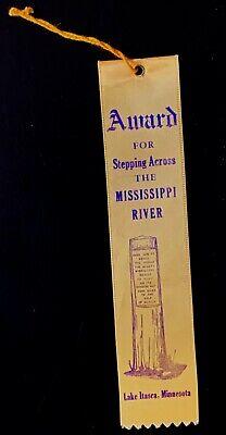 Award Ribbon for Stepping Across the Mississippi River at Lake Itasca, Minnesota