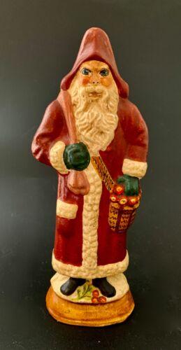 "Vaillancourt Folk Art Christmas 1986  7 1/2"" Santa Claus  #20"