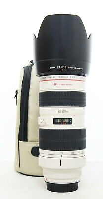 """# Canon EF 70-200mm f/2.8 L USM Lens """"Mint"""" S/N 388178"""