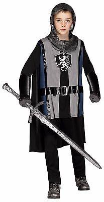 Child Lionheart Knight Medieval Gladiator Warrior Renaissance Costume ](Kids Gladiator Costume)