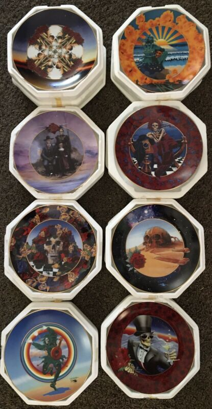 The Grateful Dead By Stanely Mouse Plate Collection