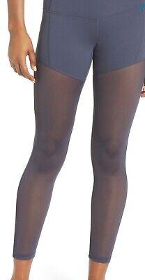 Zella Women's Size L Elegance High Waist Leggings Gray Color New No Tag