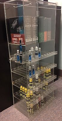 Acrylic Display D300 E-juiceliquid Wbuilding Taster Countertopshowcase Wkey