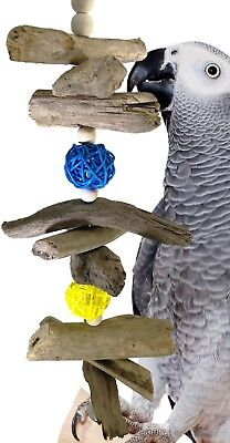 1071 Drift Chew Bonka Bird Toys parrot cage toy african grey amazon conure cages