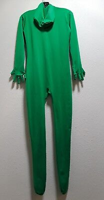 UNISEX CATSUIT GREEN LANTERN MUSCLE GAY JUMPSUIT 36 CHEST STRETCHES GREEN GIANT