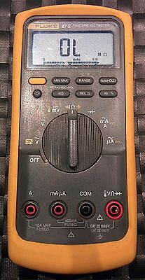 FLUKE 87-V 87V True RMS Industrial Grade Professional Multimeter Unit UK ** - Grade Multimeter