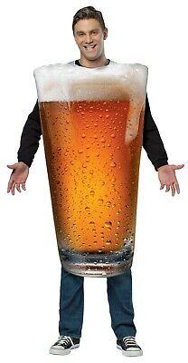 Rasta Imposta Get Real Beer Pint Alcohol Adult Unisex Halloween Costume GC6803](Alcohol Halloween Costume)