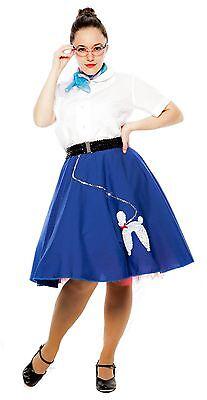 kirt - 50s Sock Hop Circle Skirt - S/M, L/XL - Hey Viv Retro (Sock Hop Röcke)