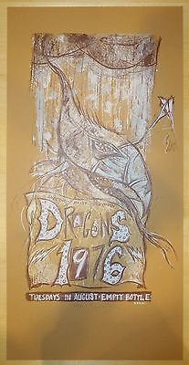 2004 Dragons 1976 - Chicago Silkscreen Concert Poster S/N by Dan Grzeca