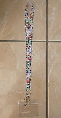 Friends Lanyard / Neck Strap for Pin Trading inc. Waterproof Holder