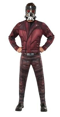 Adult Star Lord Pratt Guardians of the Galaxy Halloween Costume - STD & XL Size