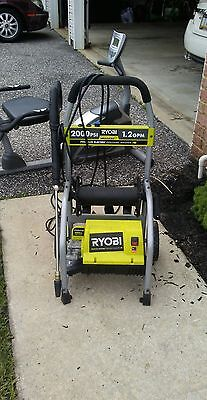 Used Ryobi 2000psi Pressure Washer Electric