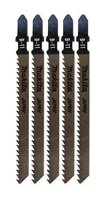 MAKITA Jigsaw Blade 5 pc Set 3 7/8 Inch 9TPI T-Shank B-11 Wood JPN 792463-1