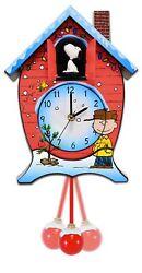 Mark Feldstein CKPNX Peanuts Christmas Cuckoo Clock