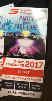 Selling 1 x GoldCoast 600 trackside ticket $80