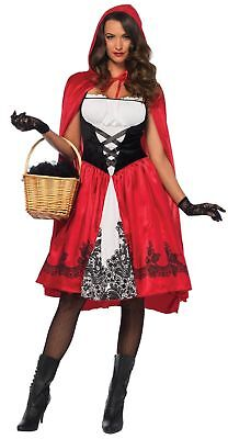 Adult/ Classic Red Riding Hood Costume by Leg Avenue Regular/Plus  Adult Classic Red Riding Hood