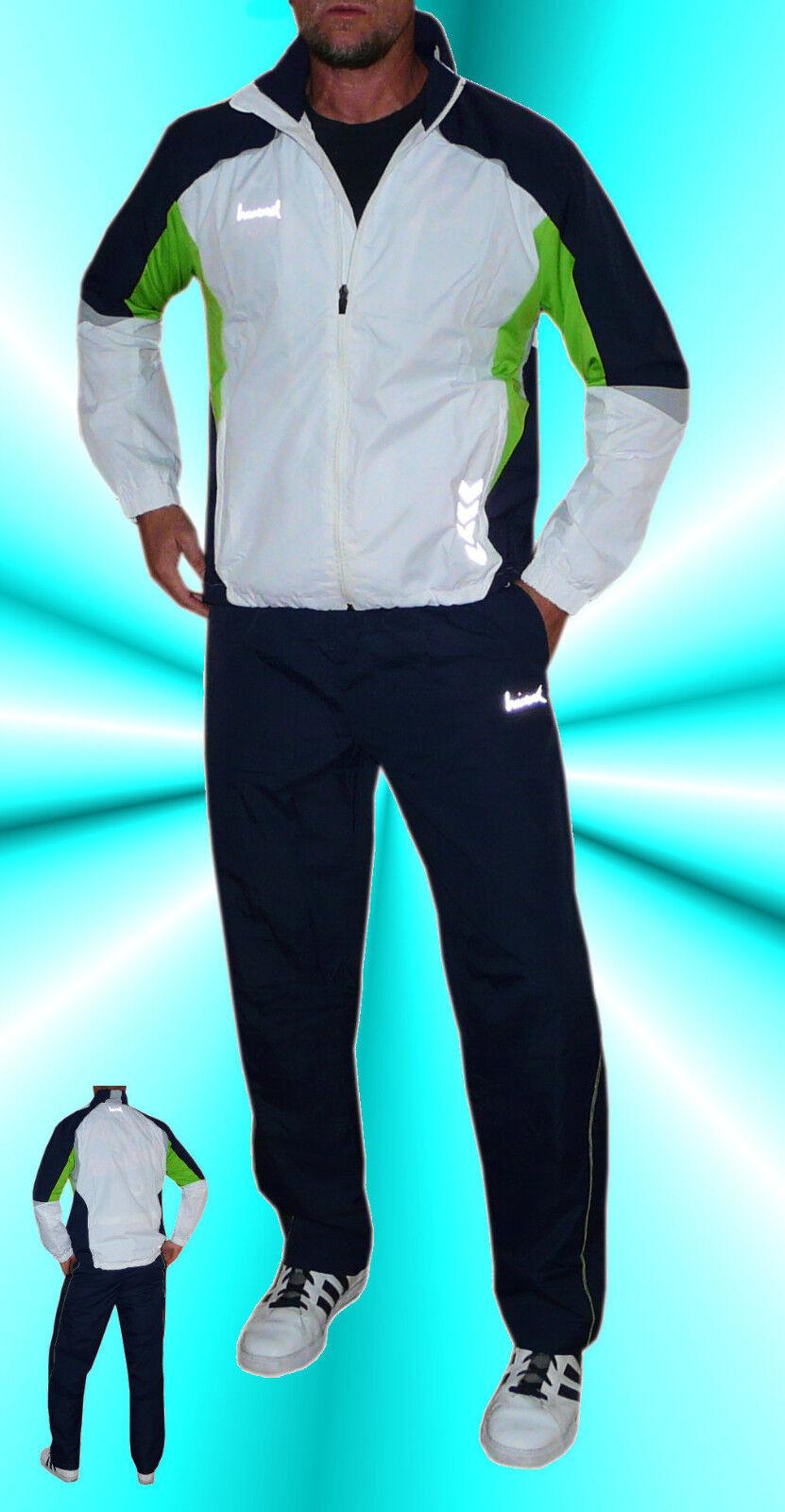 Neu+Hummel+Trainingsanzug+Unisex+Microtec+Tracksuit+Sport+Fitness+Freizeit+