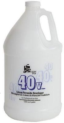 Superstar 40 Volume Cream Peroxide Developer 128 oz