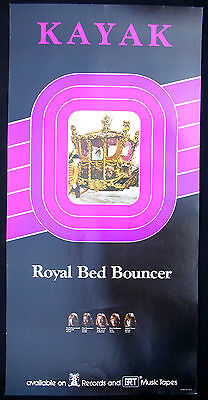 Royale Poster Bed (KAYAK Royal Bed Bouncer Record Store Promo Poster Mint- 1975)