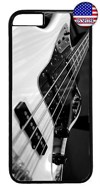 Bass Guitar Rock Music Rubber Case Cover For Iphone 8 7 Plus 6 5 4 X