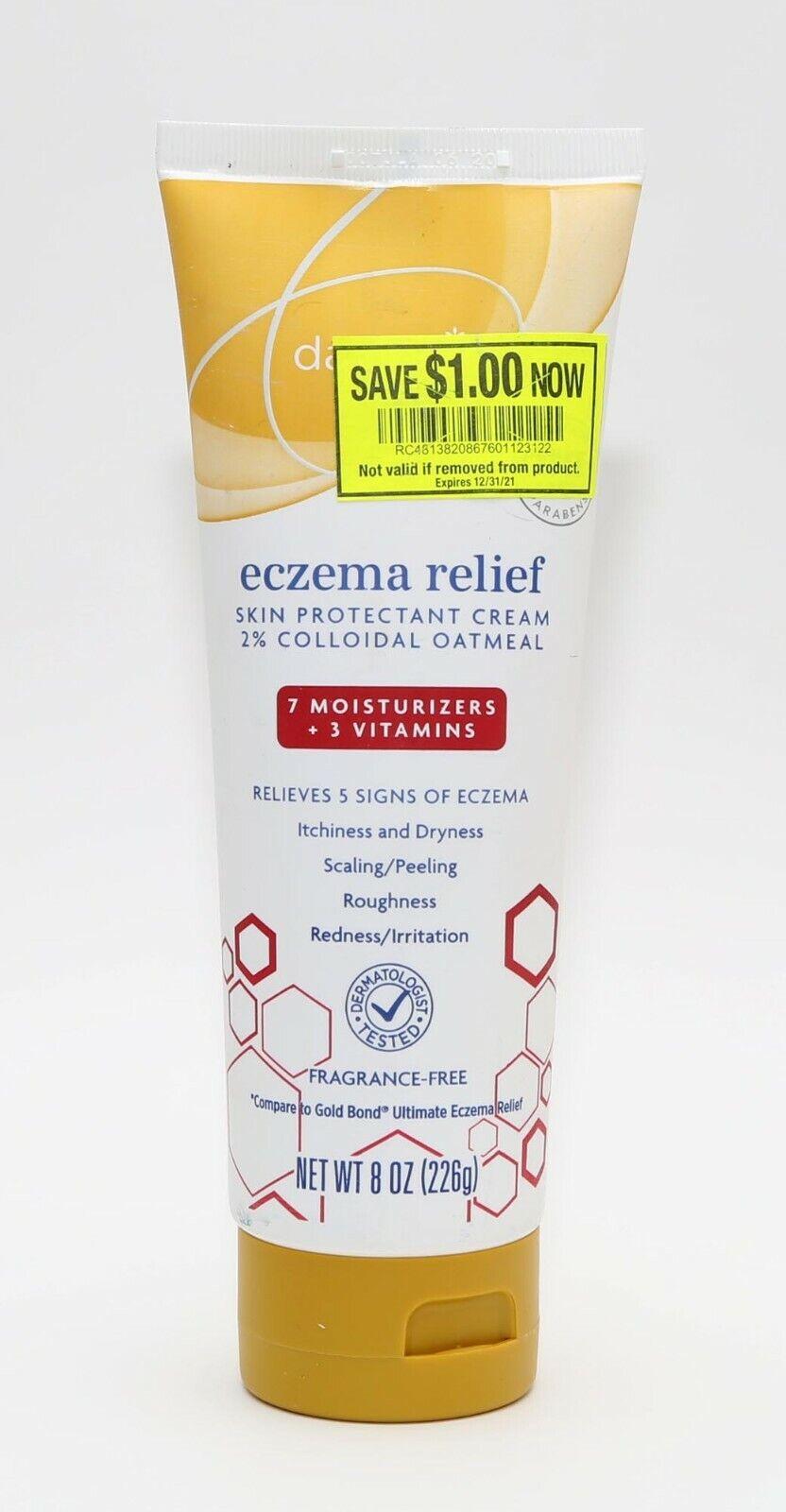 Daylogic Eczema Relief Skin Protectant Cream 8 oz -2% Colloi